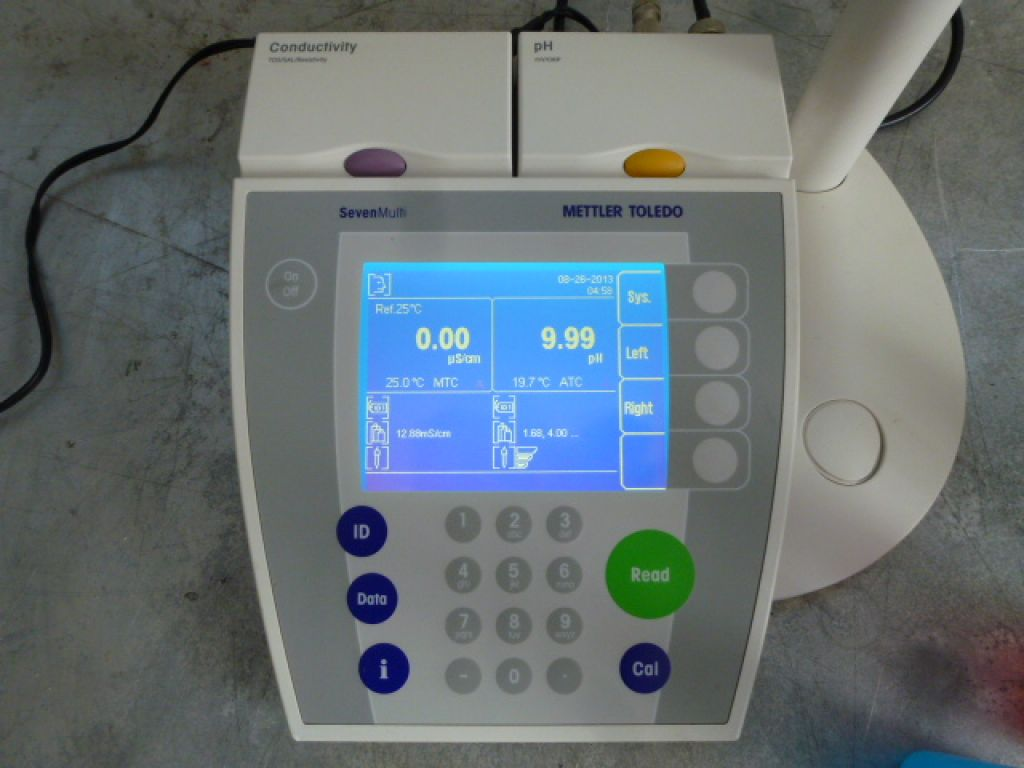 Mettler Seven Multi S47 Dual Channel ph / Cond Meter