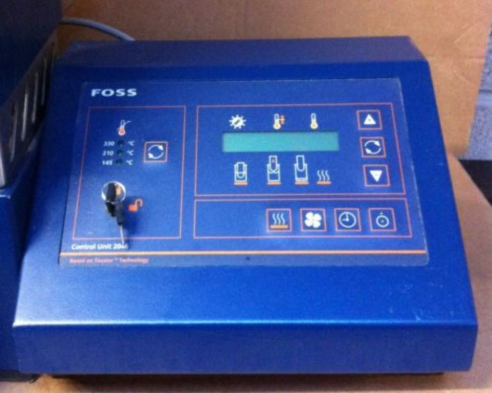 Foss Tecator Soxtec System 2043 Extraction Unit
