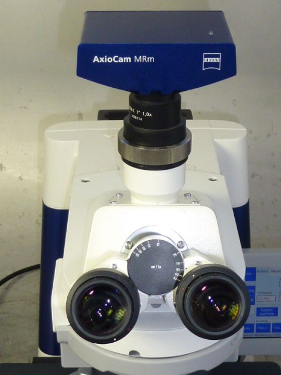 Zeiss Axio Imager M1 Microscope with Camera, PC, Dongle