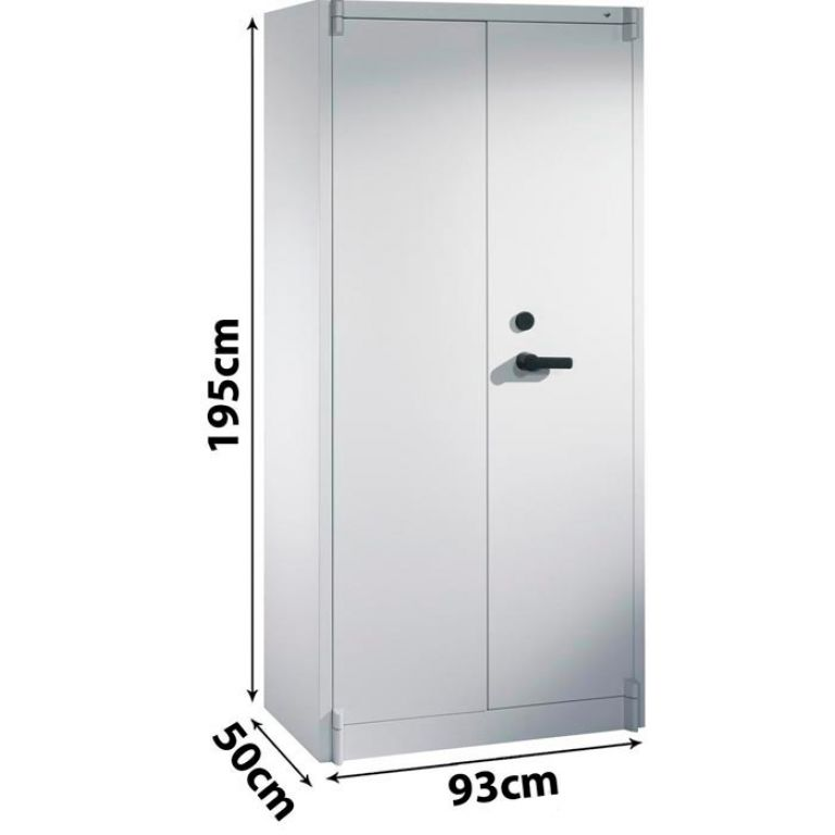CP Certos fire resistant Document Cupboard  93cm x 195cm x 50cm