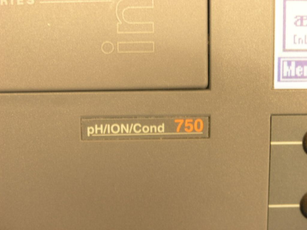 WTW pH/Ion/Cond 750 Multiparameter Instrument