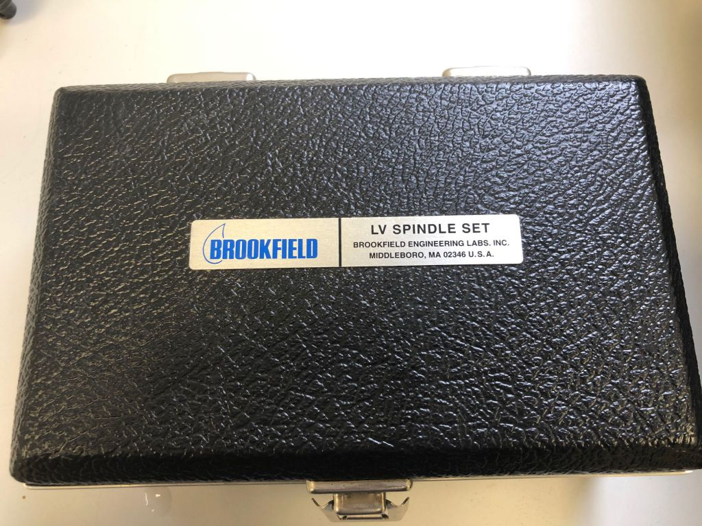 Brookfield LV DV-II+ Viscometer with Stand, LV Spindle Set, Transport Case